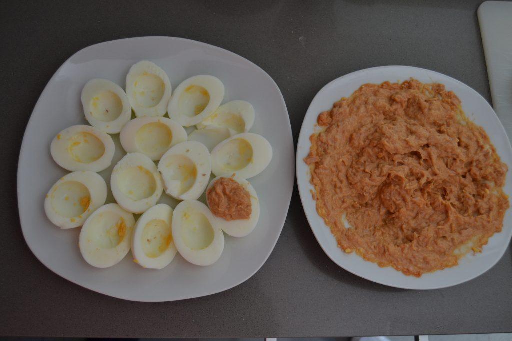 Receta Huevos Rellenos - Hábitos Saludables de Vida (12)