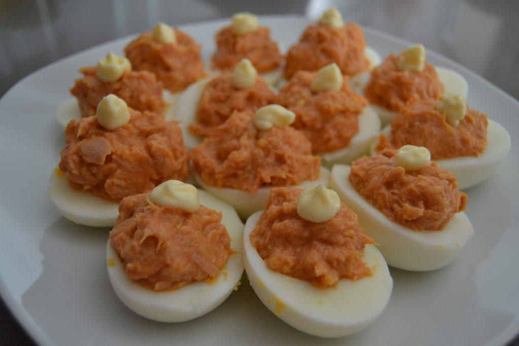 Receta Huevos Rellenos - Hábitos Saludables de Vida (15)