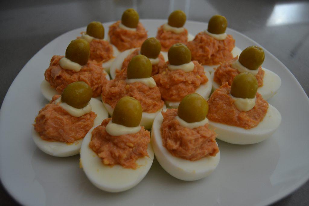Receta Huevos Rellenos - Hábitos Saludables de Vida (16)