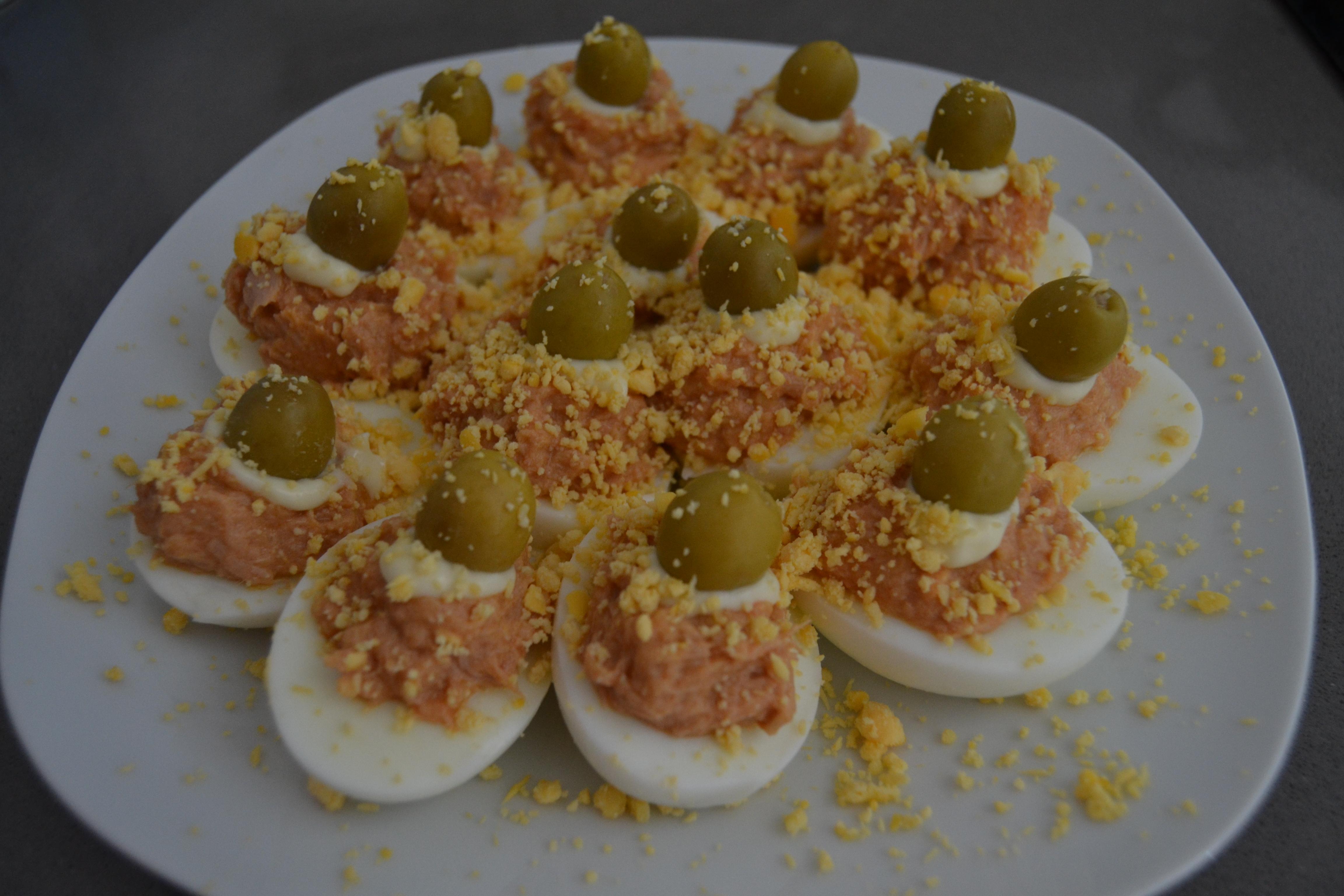 Receta Huevos Rellenos - Hábitos Saludables de Vida (17)