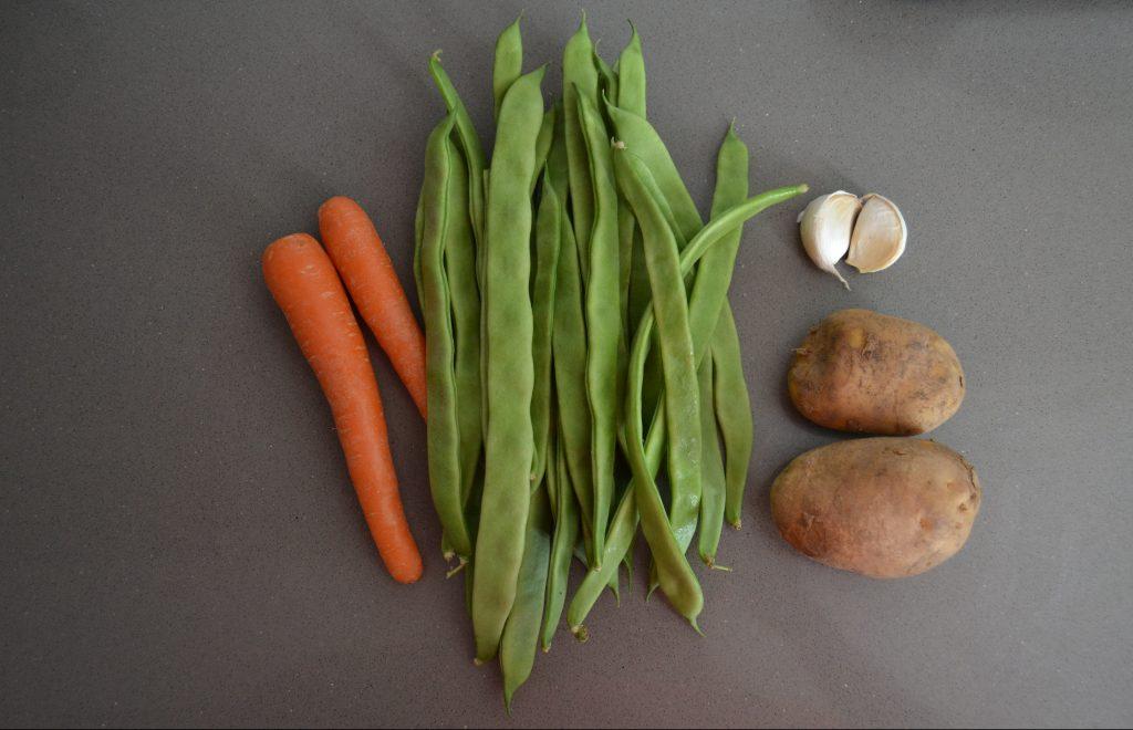 Receta Judías verdes con patata y zanahoria - Hábitos Saludables de Vida (1)