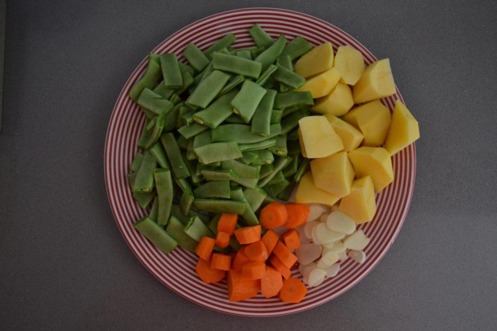 Receta Judías verdes con patata y zanahoria - Hábitos Saludables de Vida (2)