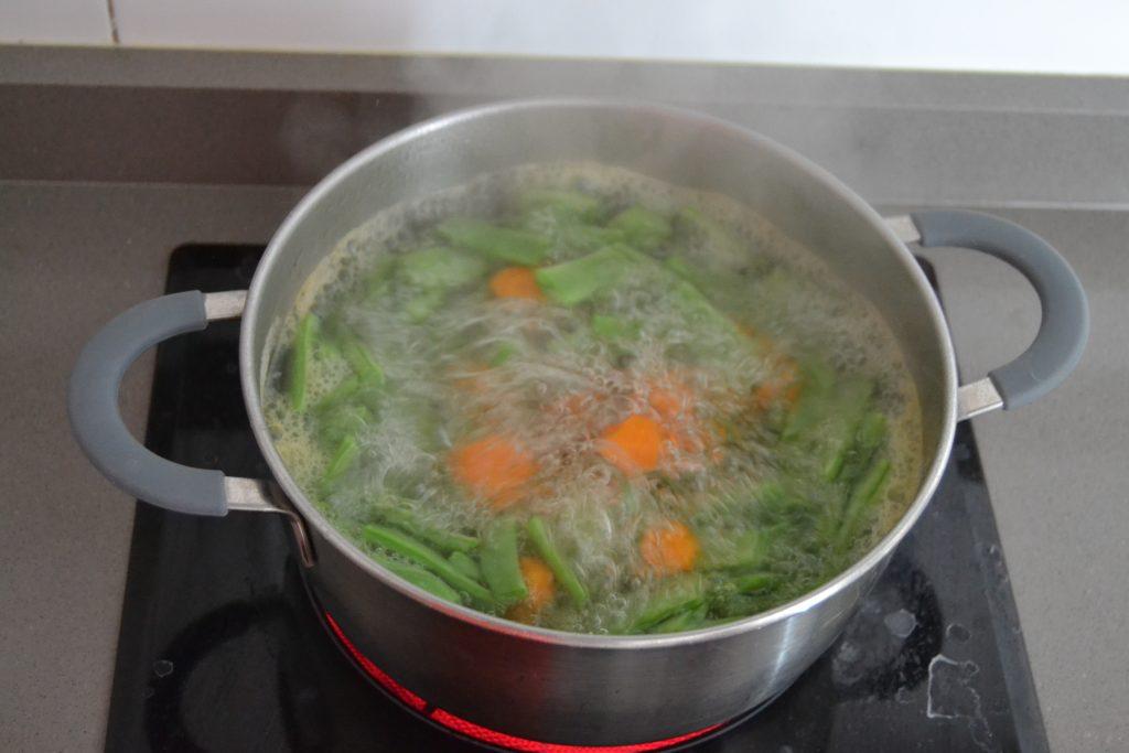 Receta Judías verdes con patata y zanahoria - Hábitos Saludables de Vida (3)