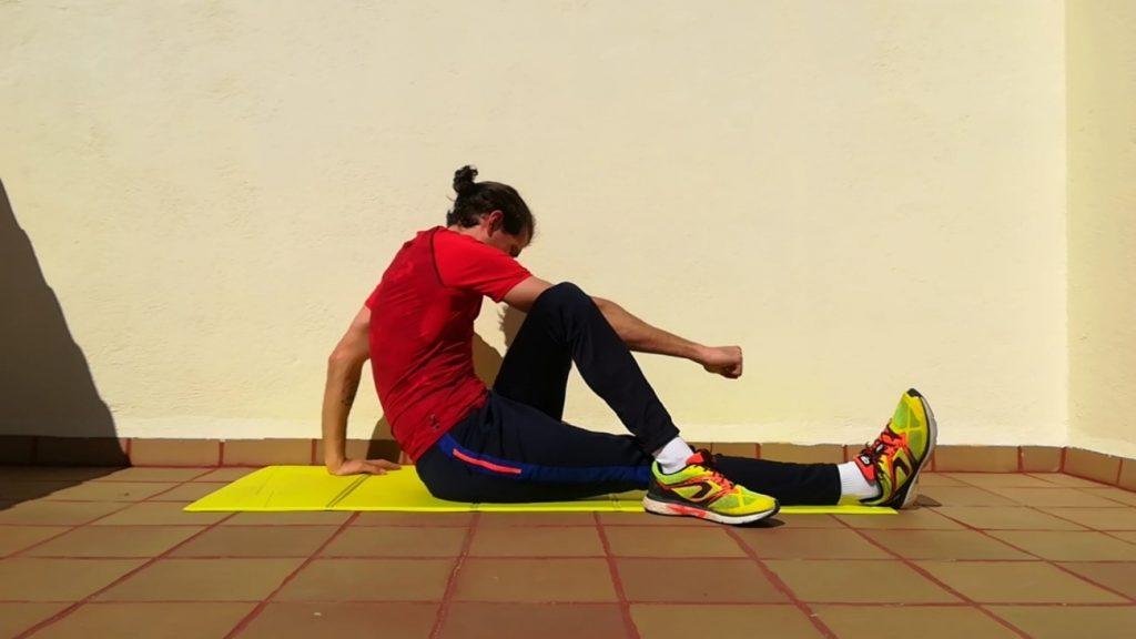 Estiramientos - Glúteo y Piramidal - Hábitos Saludables de Vida