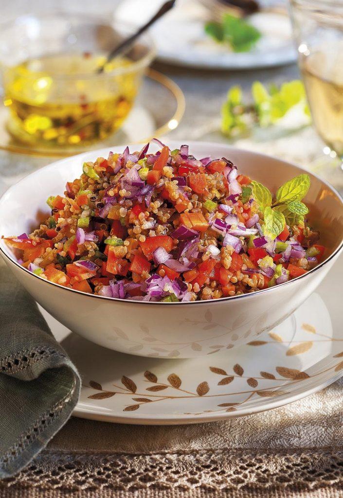 Comidas Saludables - Ensalada de Quinoa - Hábitos Saludables de Vida
