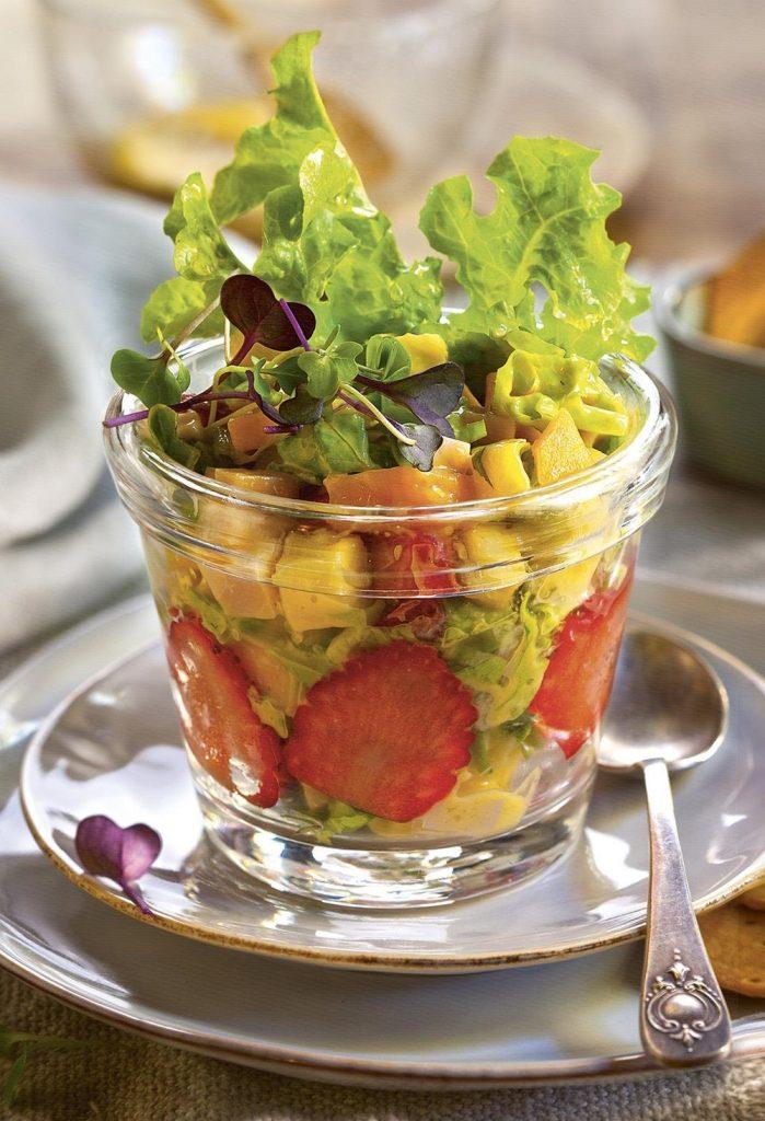 Comidas Saludables - Ensalada de frutas - Hábitos Saludables de Vida